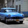 Classic old Americcar on streets of Havana — Foto Stock #41995185