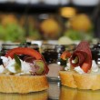 Stock Photo: Beautifull bruschetti - food catering