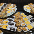 Stock Photo: Catering sweets - food catering