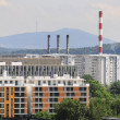 Stock Photo: Industrial view of Belgrade