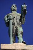 Monument of Belgrade winner — 图库照片