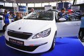 Belgrade car show — Stock Photo