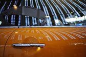 Luxurious sports car details at car show — Foto de Stock