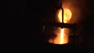 04,Steel Casting.mov — Stok video
