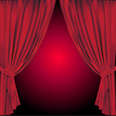 Curtain — Vetorial Stock