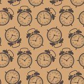 O padrão os pulsos de disparo de alarme em estilo retro — Vetor de Stock