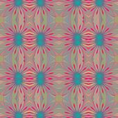 Seamless pattern in retro style — Stock Vector