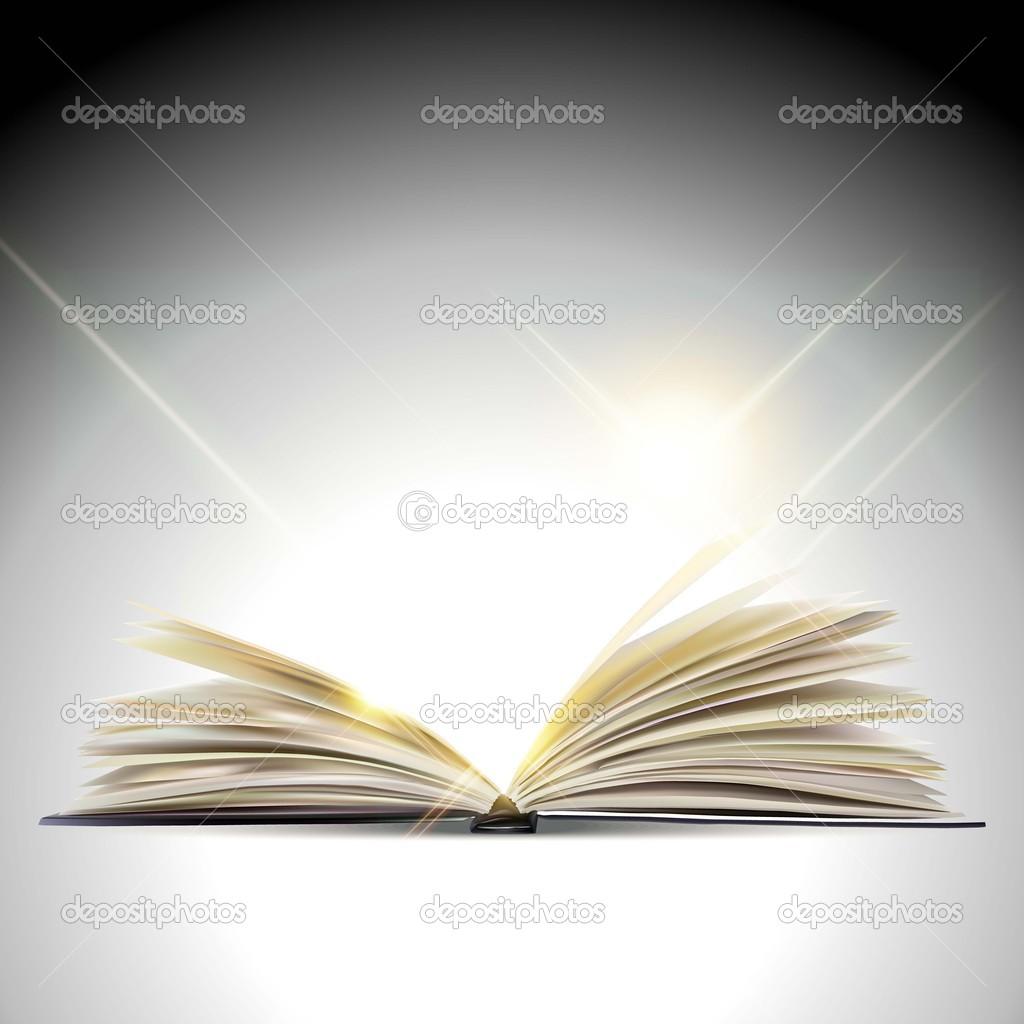 打开的书 — 图库矢量图像08