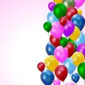 Farbige luftballons — Stockvektor