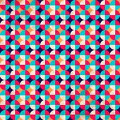 The pattern in retro style — Stock Vector