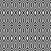 Black-and-white pattern vintage — Stock Vector