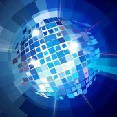 Disco ball explosion — Stock Vector