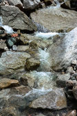 Waterfalls in the mountains — Foto Stock