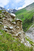 Montagne tien-shan, kirghizistan — Foto Stock