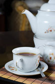 Tea set — Stockfoto