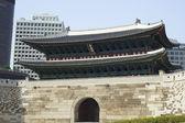 Sungnyemun (Namdaemun), Gate of Exalted Ceremonies — Stok fotoğraf