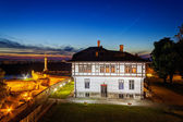 Kalemegdan park at night, Belgrade, Serbia — Stock Photo