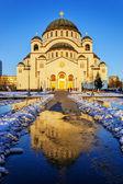 聖サヴァ教会 — ストック写真