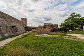 Stone gate and bastion at  Belgrade fortress — Stock Photo
