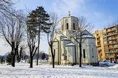 Church of saint Sava — Stock Photo
