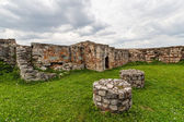 Remains of medieval fortress — Stock Photo