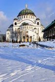 Cattedrale di San sava — Foto Stock