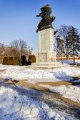 Belgrade fortress an winter — Stock Photo