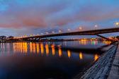 Most v noci — Stock fotografie