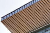 Aluminum facade — Stock Photo