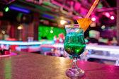 Cocktail at bar — Stock Photo