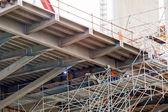 Köprü inşaatı — Stok fotoğraf
