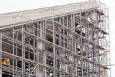 Building construction — Stockfoto
