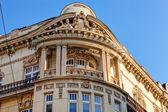 Fachada de piedra en el edificio clásico — Foto de Stock