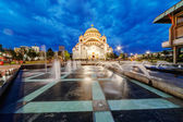 Saint Sava Temple — Fotografia Stock