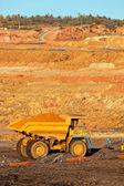 Open mining pit — Foto Stock