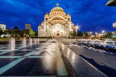 Saint Sava Temple — Stock Photo