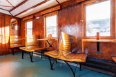 Luxury old train carriage — Stock Photo