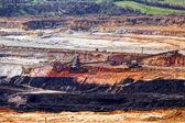 Poço de mineração aberta — Fotografia Stock