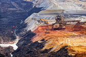 Open mining pit — Foto de Stock