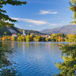 Lake Bled - Slovenia in Autumn — Stock Photo
