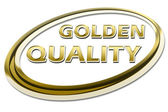 GOLDEN QUALITY — Stock Photo