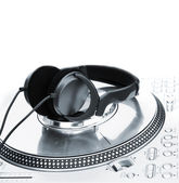 Professional DJ Vinyl Player — Foto Stock