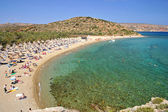 Greek Vai Beach — 图库照片