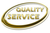 Quality Service Certificate — Foto Stock
