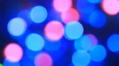 Bokeh lights background — Stock Video