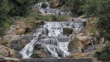 Beautiful Waterfall in Thailand — Stock Video
