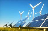 Sustainable energy concept — Stock Photo