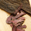 Chopped Biltong — Stock Photo