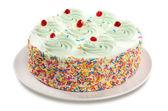 Cream Soda Cake — Stock Photo
