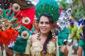 Festival ATI-Atihan on Boracay, Philippines. Is celebrated every — Stock Photo